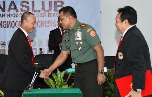 Panglima TNI : Tugas Saya Sebagai Presiden Yong Moodo Selesai