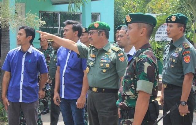 Wakasad Tinjau Kondisi Rumah Dinas Satuan Divisi Infanteri 2/Kostrad