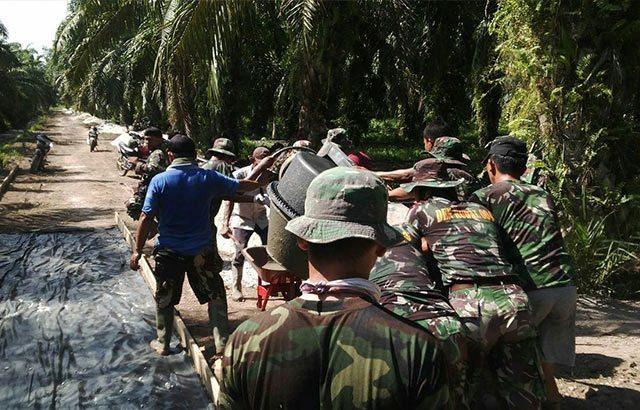 TMMD Wujud Nyata Kemanunggalan TNI Dengan Rakyat