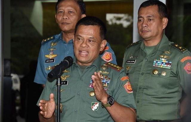 Panglima TNI Sudah Keluarkan Surat Pengunduran Diri Agus Harimurti Sejak Dia Daftar di Pilkada 2017