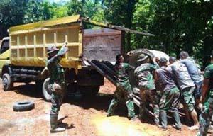 TNI Terus Bekerja Membangun Negeri