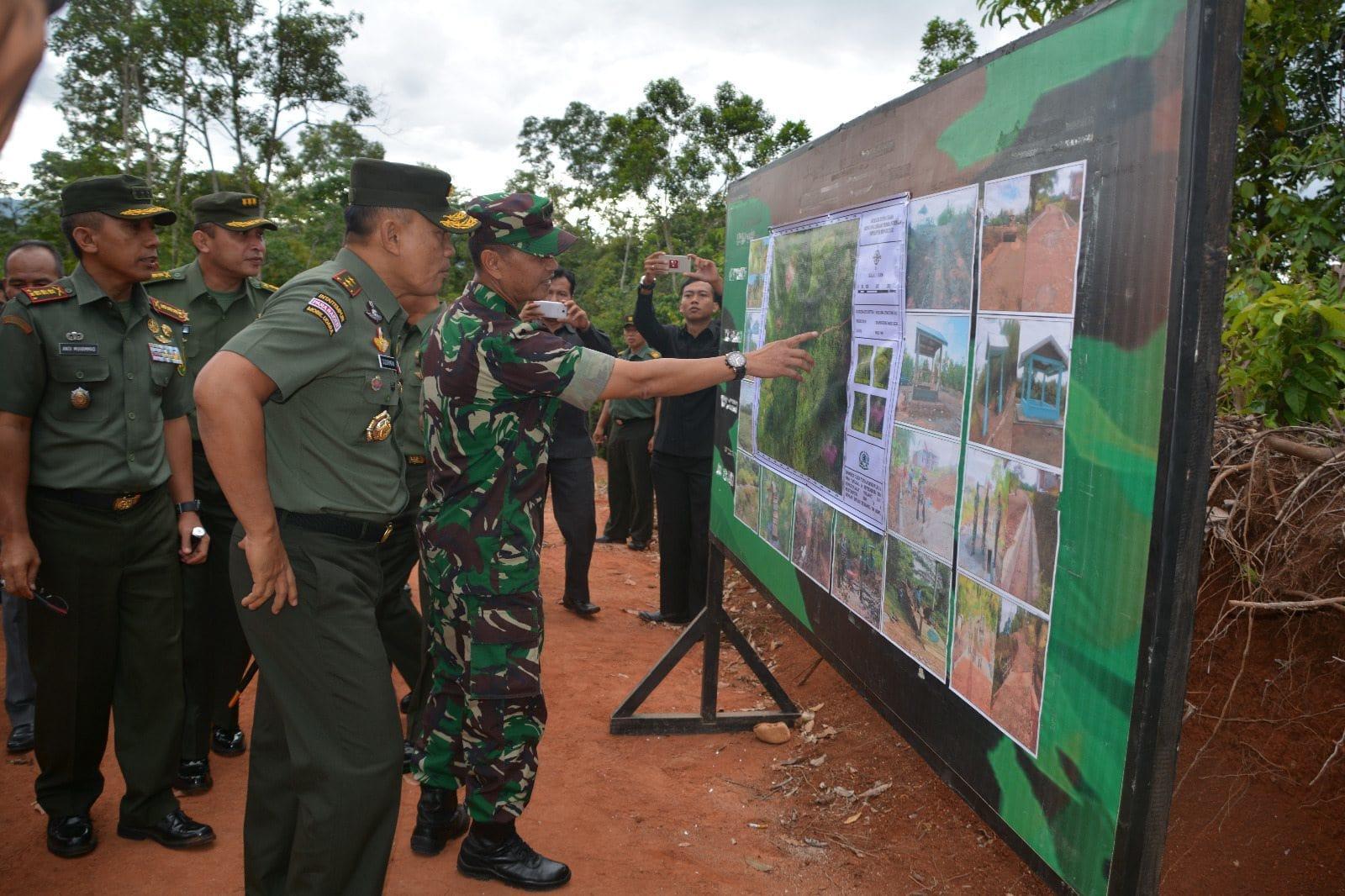 Pangdam II/SWJ Kunjungan Ke Bengkulu Tengah