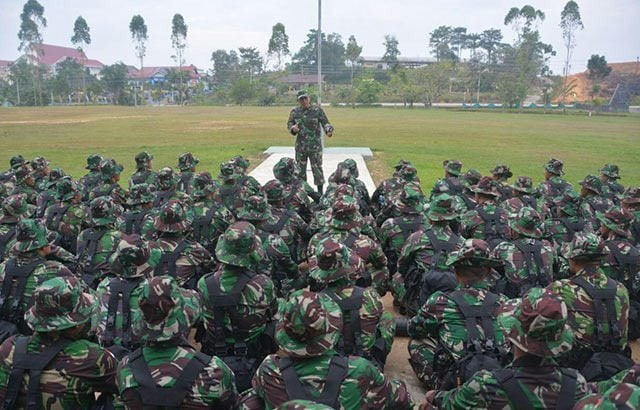 Kodam XII/Tpr Kirim Pasukan ke Malaysia