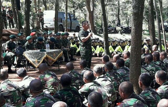 Panglima Divif 2 Kostrad Buka Latihan Pembentukan Raider