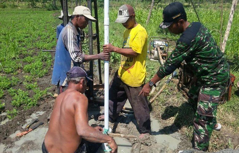 Petani Modung Bangkalan Kini Miliki Sumur Bor