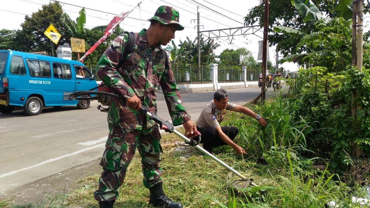 Gotong Royong, Pererat Silaturahmi TNI dengan Rakyat