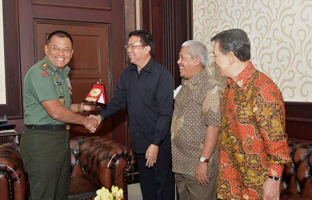 Panglima TNI Terima Kunjungan Dewan Pers