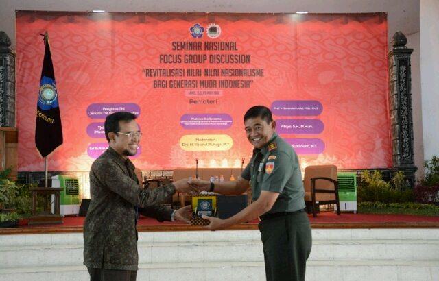 Pangdam Diponegoro Ingin Nasionalisme Direvitalisasi