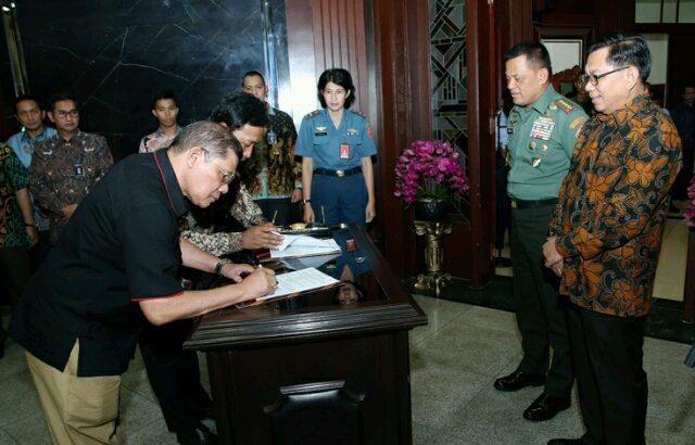 Panglima TNI : Beladiri Karate Untuk Membela Bangsa