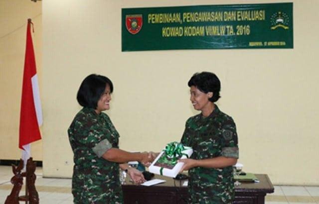 Sosialisasi Pembinaan Kowad TNI-AD Di Kodam VI/Mlw