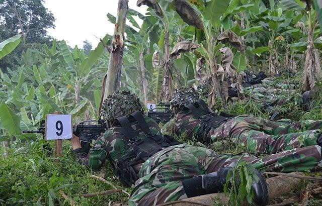 Jaga NKRI, Brigif 1 PIK/JS Latihan Uji Siap Tempur Tingkat Kompi
