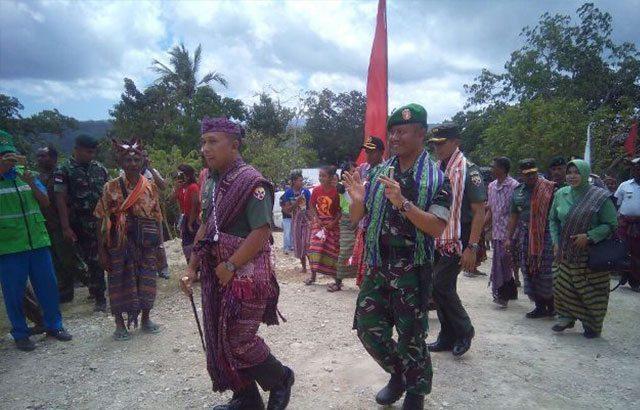 Pembukaan Jalan Sepanjang 6000 M, Wujud Sinergitas TNI Dengan Rakyat