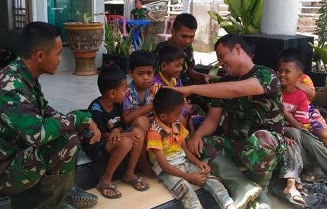 Dampak TMMD ke-97, Banyak Anak–Anak Bercita-cita Jadi Tentara
