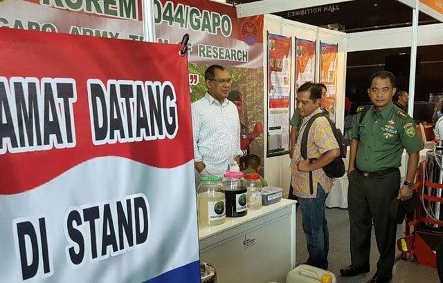 Tiga Produk Hasil Temuan Korem 044/Gapo Dipamerkan Di Jakarta