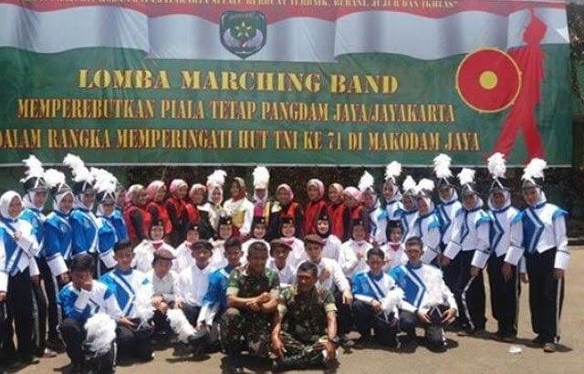 Bina Marching Band SMPN 279 Untuk Ikuti Lomba Tingkat Kodam