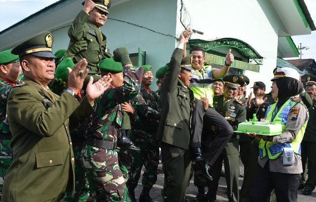 Kejutan Kapolres Wonosobo Di HUT Ke-71 TNI