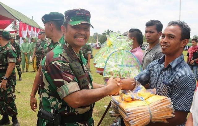 Operasi Teritorial TNI Hadir untuk Sejahterakan Rakyat