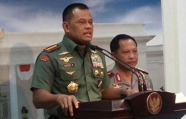 Panglima TNI : Anggota TNI Terlibat Pungli, Laporkan