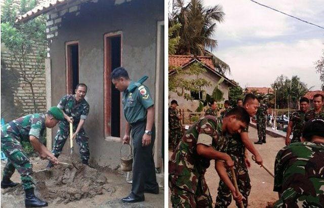Setelah dibedah TNI, Kiptiyah Nyaman dengan Rumah Baru