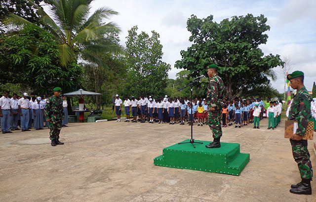 Sumpah Pemuda Bergema di Tapal Batas RI-PNG