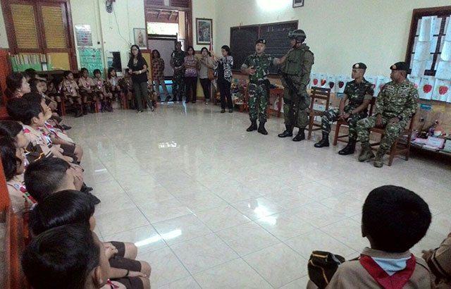 TNI Inspirasi Siswa SD Marsudirini 78 Salatiga