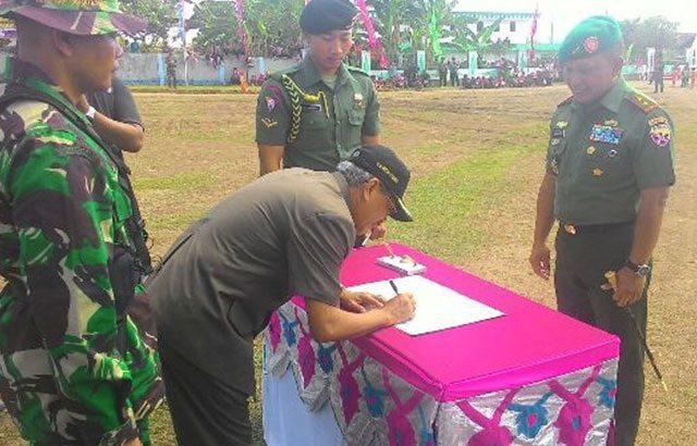 TMMD Bentuk Kepedulian TNI Pada Masyarakat