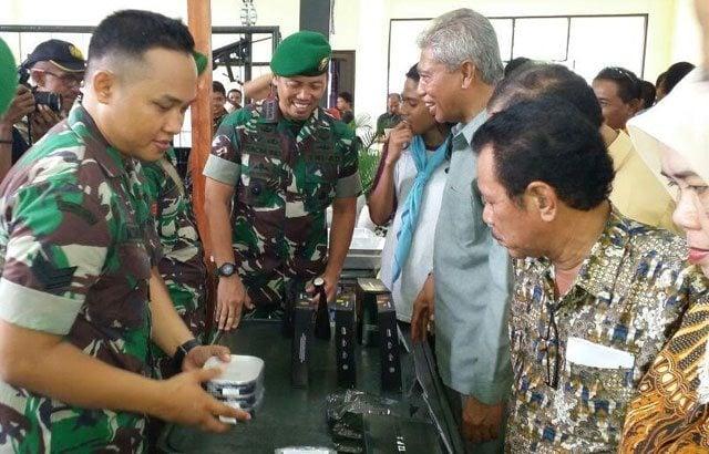 Maluku Utara Gelar Pameran Alutsista
