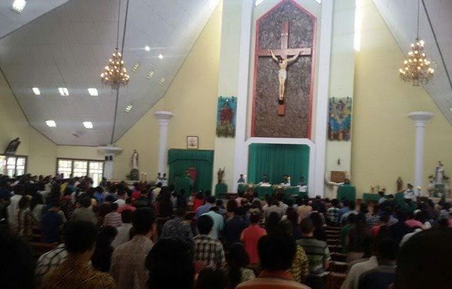 Umat Nasrani Kabupaten Merauke Berdoa Untuk TNI