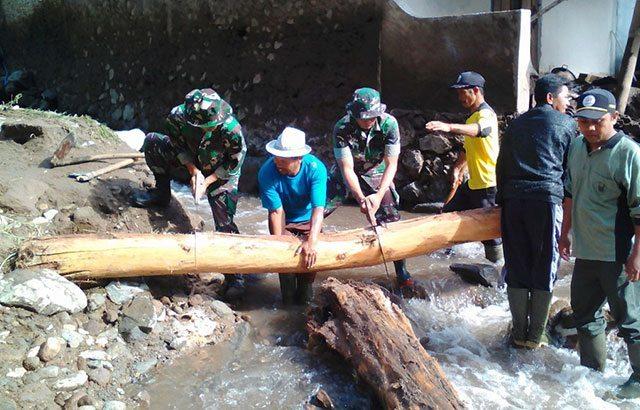 Banjir Bandang Menerjang Kecamatan Plaosan Magetan