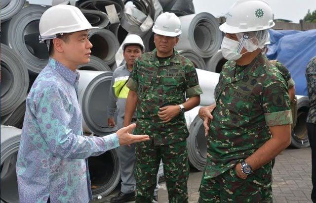 Keberadaan Komando Kewilayahan Untuk Dukung Industri Strategis di Wilayah