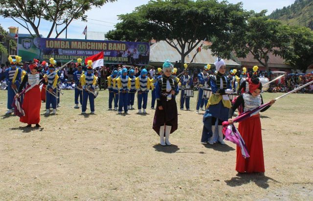 Meningkatkan Kretifitas Dengan Selenggarakan Lomba Marching Band Pelajar