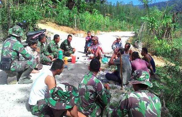 Melalui TMMD Terjalin Kebersamaan TNI Dan Rakyat