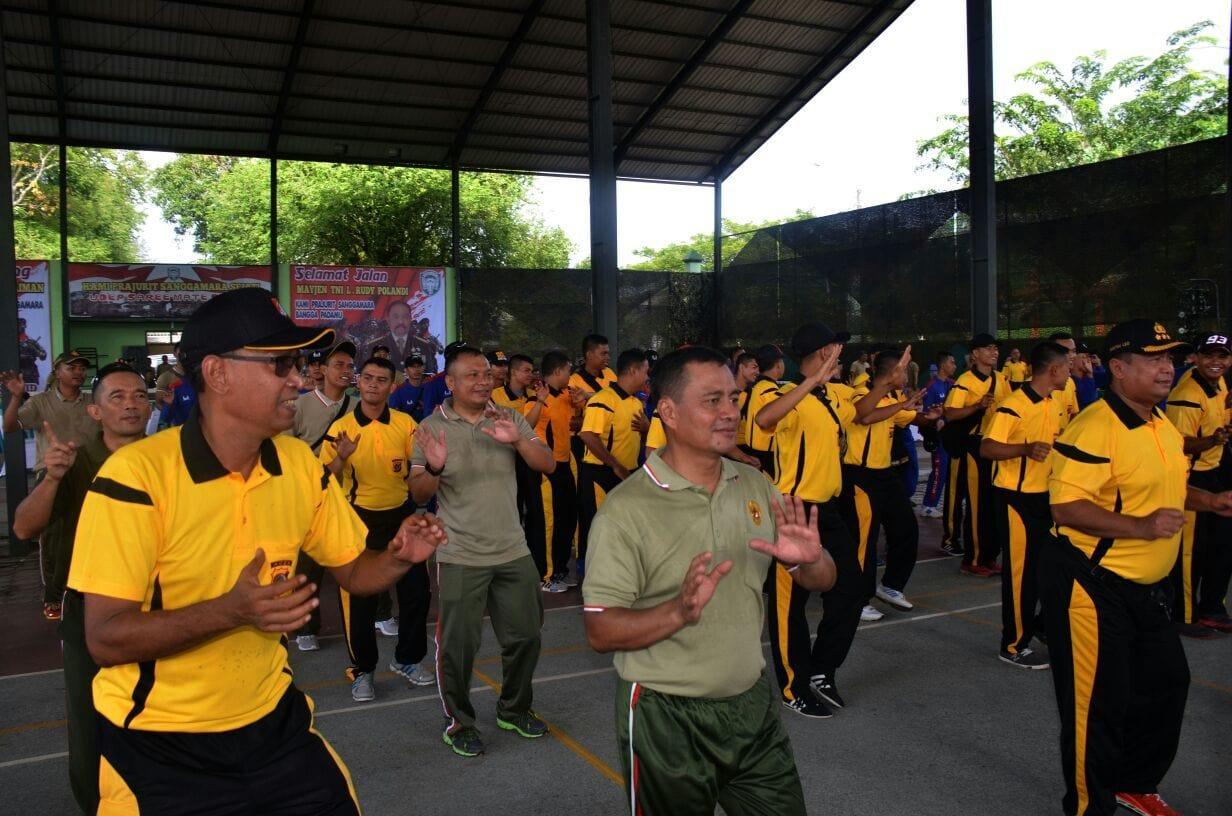 """""""Gowes Bersama,"""" Wujud Sinergitas dan Soliditas TNI-Polri"""