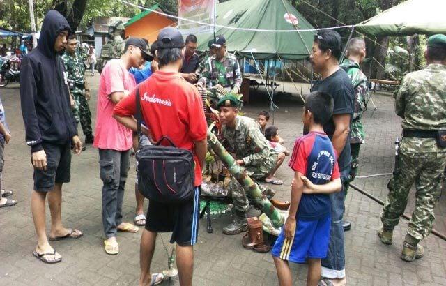 Pameran Alutsista Berikan Nilai Pendidikan Dan Rasa Cinta Rakyat Terhadap TNI