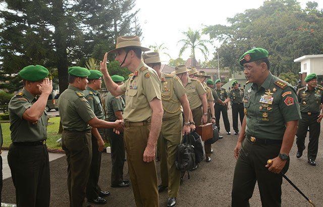 Australian Chief Of Army, Kunjungi Kodiklat TNI AD