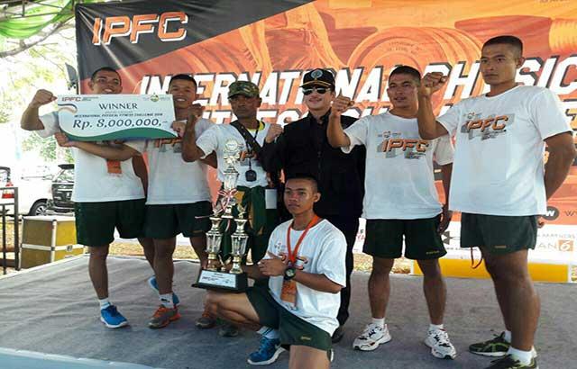 Prada Riko Sanjaya Juara 1 IPFC Kategori Militer