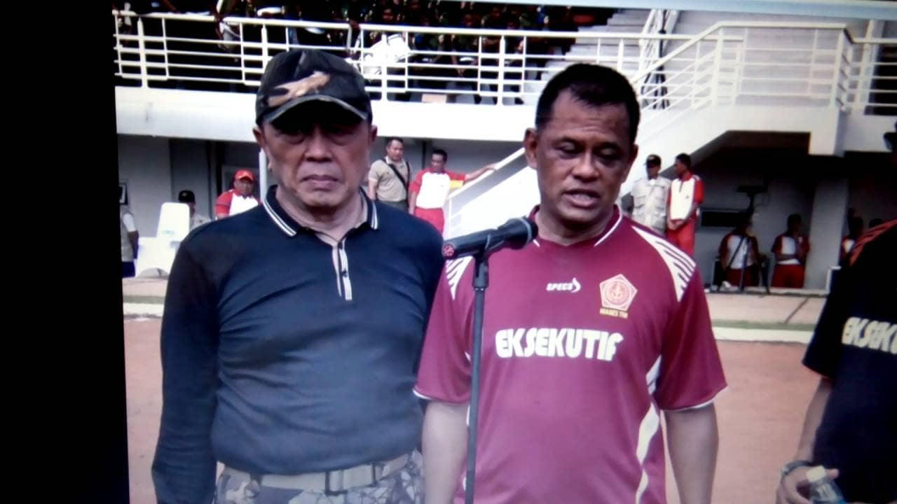 Doorstop Panglima TNI dengan Pemred/Wartawan Media Massa, Jumat (21/10/2016).