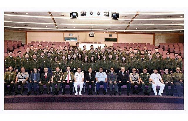 Pembukaan Program Pemantapan Nilai-Nilai Kebangsaan bagi Entrepreneur Organisation Angkatan I