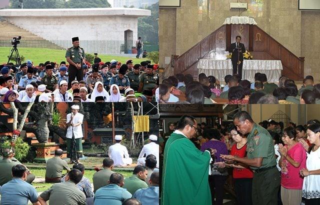 Panglima TNI : Doa Bersama Untuk Keselamatan Bangsa