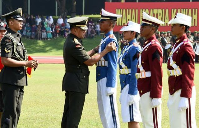 Panglima TNI : Tidak Ada Pemimpin Yang Lahir Tanpa Tempaan
