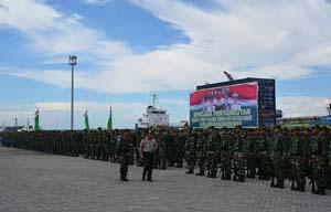 10 Bulan Jaga Perbatasan, Prajurit Yonif 144/JY Kembali Dengan Hasil Membanggakan