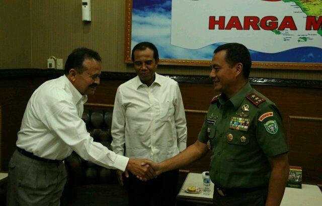 Kodam IM Siap Kerja Sama dengan Gapensi Aceh
