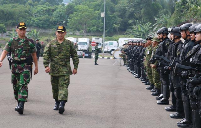 Cegah Terorisme, TNI dan RTAF Latihan Bersama