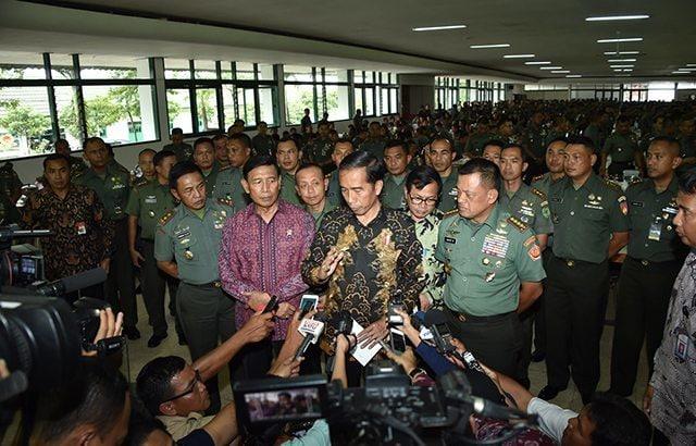 Presiden RI : TNI Harus Mengantisipasi Tantangan Global Bangsa