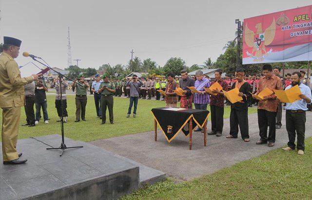 """""""Deklarasi Kebhinnekaan Cinta Damai"""" Perekat Persatuan Bangsa di Kabupaten Belitung"""