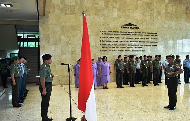Panglima TNI : Sikapi Perkembangan Situasi dengan Cermat dan Teliti