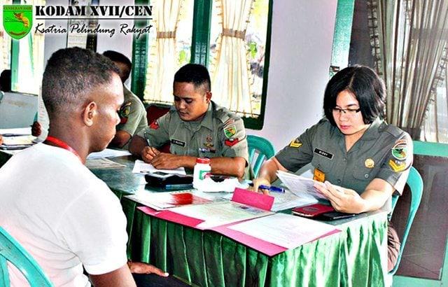 Tujuh Putra Perbatasan Siap Siap Ikuti Pendidikan Tamtama TNI AD