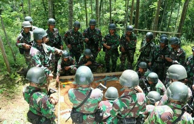 Prajurit TNI Terus Tingkatkan Kemampuannya Melalui Latihan Uji Siap Tempur