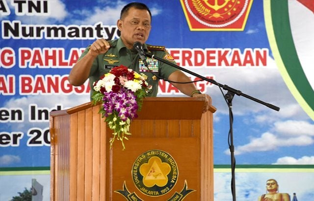 Panglima: Tembak Mati Oknum TNI Bekingi Narkoba