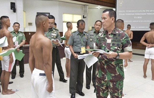 31 Calon Tamtama TNI AD Pulau Terluar Dinyatakan Lulus
